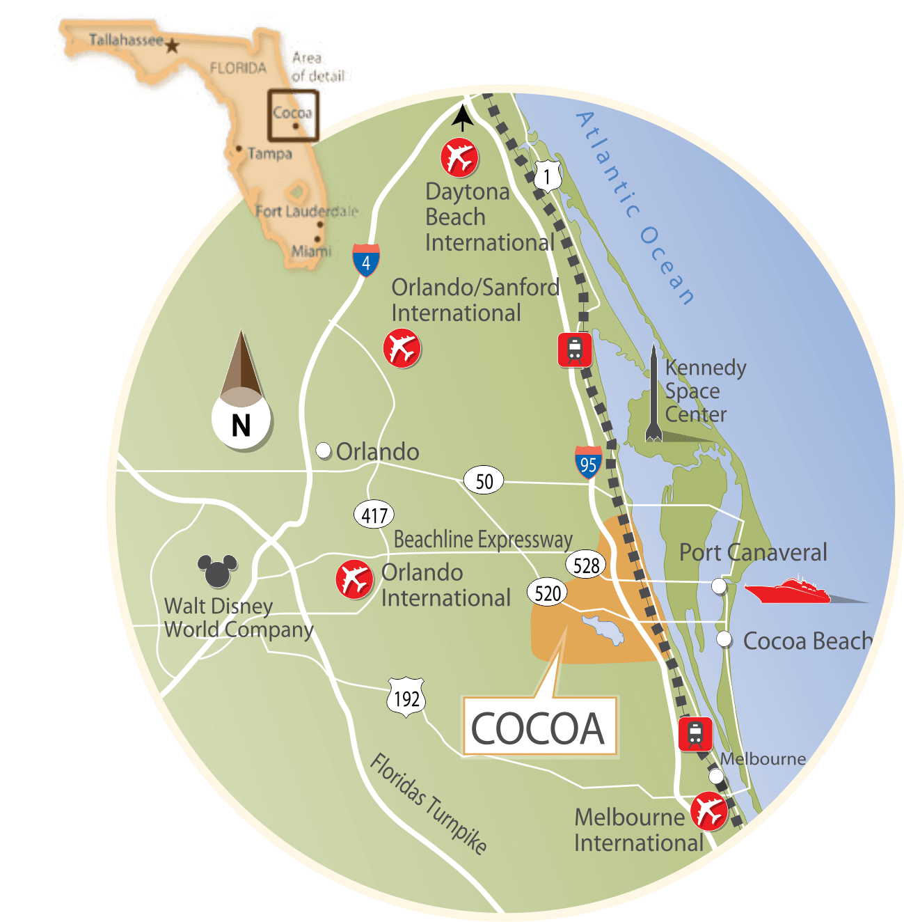 Cocoa Map