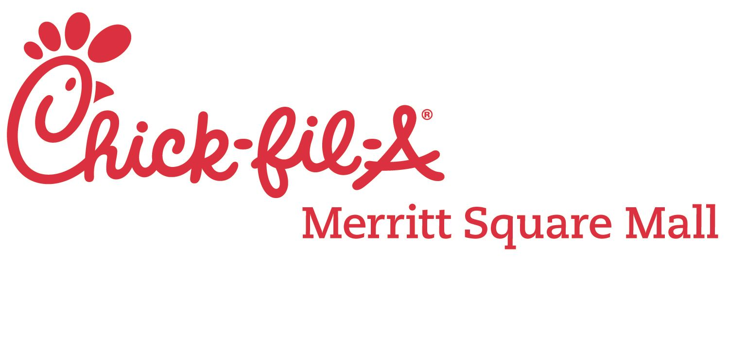 Red Merritt Square Logo